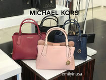 追跡有 Michael Kors★9月新作 KIMBERLY LG SATCHEL 2wayバッグ