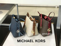 追跡有 Michael Kors★9月新作 KIMBERLY SM BUCKET BAG