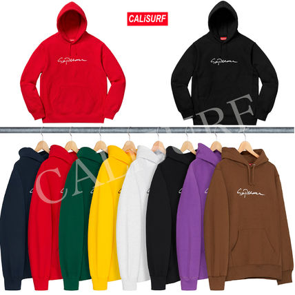 【AW18】Supreme(シュプリーム)Classic Script Hooded shirts