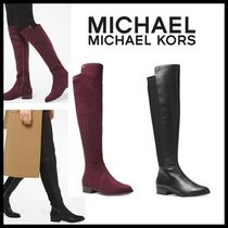 新作★Michael Kors ★Bromley Riding Boots サイドにロゴ