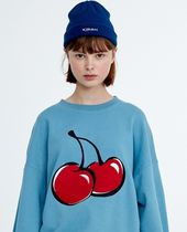 ★KIRSH★ BIG CHERRY SWEATSHIRT HA [BLUE]