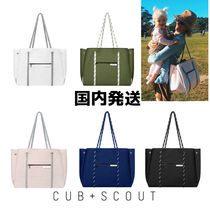 CUB+SCOUT(カブアンドスカウト) トートバッグ 国内発送/ CUB+SCOUT/ THE LEADER ネオプレン製マザーズバッグ
