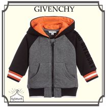 GIVENCHY☆Baby Cotton Jersey ジップアップトップ