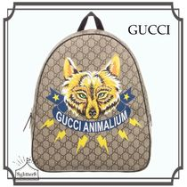 GUCCI☆GG キツネ Backpack (37cm)