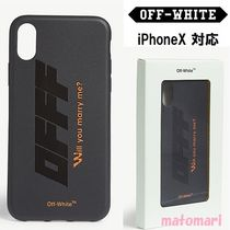 完売続出!!【Off-White】MODERN OBSTACLES iPhoneX スマホケース