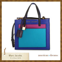 SALE! marc jacobs 2way 使える カラーブロックトートバッグ