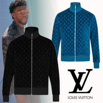 18AW【直営店】新作 LV COTTON VELOUR MONOGRAM BLOUSON