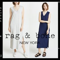 rag & bone(ラグアンドボーン) ワンピース 【rag & bone】v-neck relax long dress