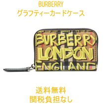 【Burberry】グラフィティ カードケース【送料・関税込み】