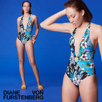 DVF WEST O-Ring Cheeky Plunge One-Piece★洗練ワンピース水着