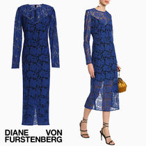 セール!DVF Embroidered tulle midi dress★完売寸前!