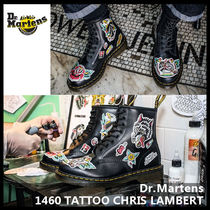 【Dr.Martens】1460 TATTOO CHRIS LAMBERT ブーツ 24243001