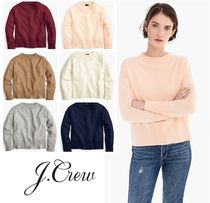 J CREW 上質カシミヤ★Everyday Cashmere Ribbed Neck Sweater