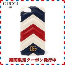 ◆GUCCI◆Quilted leather iPhone 7 case