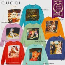 【正規品保証】GUCCI★18秋冬★GUCCIHALLUCINATION SWEATSHIRT