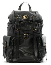 GUCCI Leather Backpack Re(Belle)