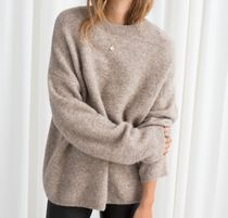 """""""& Other Stories"""" Alpaca Blend Sweater Oatmeal"""