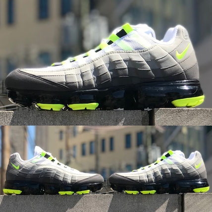Nike スニーカー ◆日本未入荷◆NIKE◆AIR VAPORMAX 95◆NEON YELLOW GRADATION(3)
