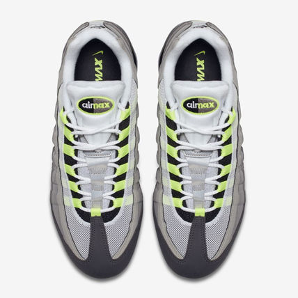 Nike スニーカー ◆日本未入荷◆NIKE◆AIR VAPORMAX 95◆NEON YELLOW GRADATION(12)