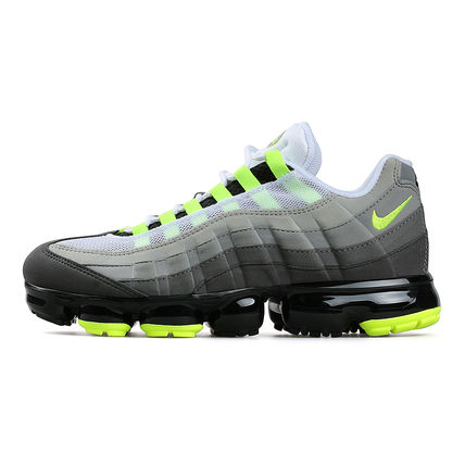 Nike スニーカー ◆日本未入荷◆NIKE◆AIR VAPORMAX 95◆NEON YELLOW GRADATION(13)