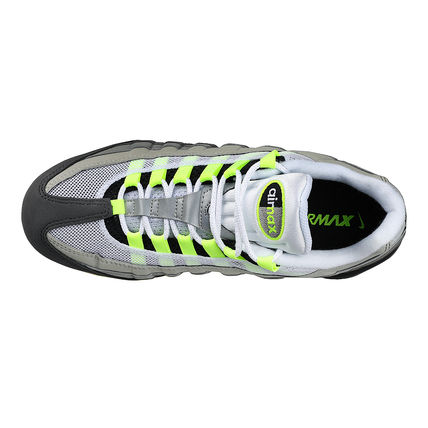 Nike スニーカー ◆日本未入荷◆NIKE◆AIR VAPORMAX 95◆NEON YELLOW GRADATION(14)