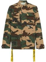 "= Off-White = CAMOUFLAGE ""FIELD JACKET"" 迷彩ジャケット"