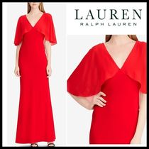 新作【Ralph Lauren】Georgette Gown パーティードレス★