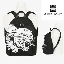 【GIVENCHY】AW新作*FlyingCatプリント ナイロンバックパック