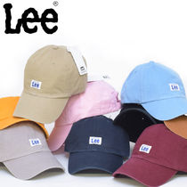 【即納】LEE リー ローキャップ WASHED BASEBALL CAP 帽子 lee