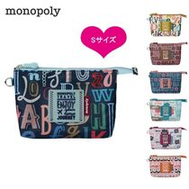 monopoly(モノポリー) ポーチ monopoly★ENJOY JOURNEY MESH POUCH S