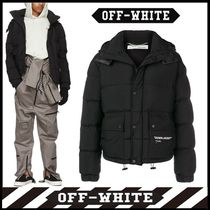OFF-WHITE正規品_QUOTE PUFFER DOWN JACKET ☆関税・送料込み☆