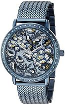 GUESS Women's U0822L3 Trendy Blue Watch with Blue Dial %カン