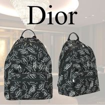 VIP価格【Dior】RIDER BACKPACK WITH CHRISTIAN DIOR 関税込