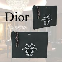VIP価格【Dior】POCHETTE WITH BEE PATCH DETAIL 関税込