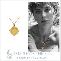 AU発日本未入荷■TEMPLE OF THE SUN■コインネックレスGOLD