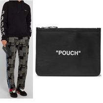 """◆Off-White(オフホワイト)◆""""POUCH"""" レザーポーチ◆国内発送◆"""