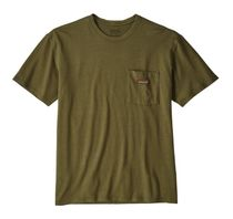 US限定 送料込パタゴニア Work Pocket Tee Shirt F Green