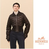 18AW【直営店】エルメス Quilted leather jacket ジャケット