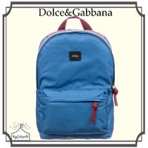 Dolce&Gabbana☆Blue DG ROYAL ブルーバックパック(35cm)
