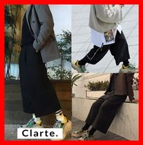 clarte(クラルテ) パンツ 18AW ★ 韓国の人気 ★【Clarte】★ Crop wide pants ★