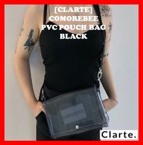 clarte(クラルテ) ショルダーバッグ・ポシェット 18AW ☆ 韓国の人気 ☆【Clarte】☆ PVC pouch bag ☆