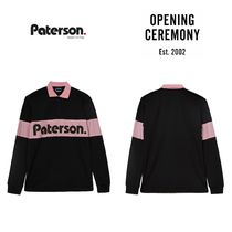 【PATERSON x OC】☆18-19AW新作☆ Game Long Sleeve Rugby Polo