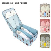 monopoly(モノポリー) トラベルポーチ monopoly×LINE FRIENDS★SHOES POUCH VER.2
