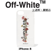 *特別セール OFF-WHITE Printed acrylic iPhone 8 ケース 送関込