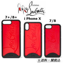 CHRISTIAN LOUBOUTIN Loubiphone iPhone 7/8/plus/X case 送関込
