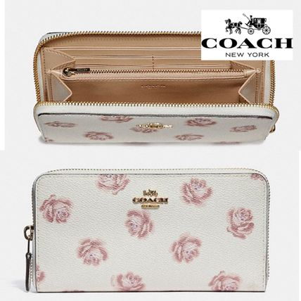 BUYMA|新作!Coach Accordion Zip Wallet With Rose Print 長財布 38096982 742afb8dee