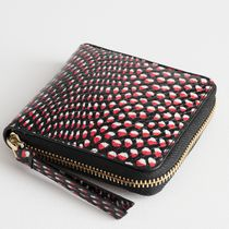 """""""& Other Stories"""" Leather Zip Wallet Snake"""