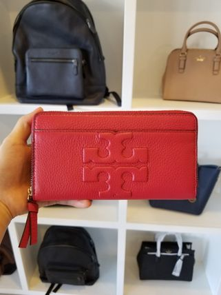 Tory Burch 長財布 【即発◆3-5日着】TORY BURCH◆BOMBE-T ZIP CONTINENTAL◆48312(9)