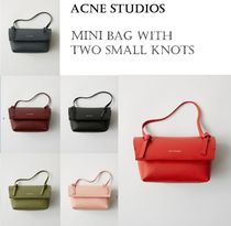 [Acne]Mini bag with two small knots 結びめが付いたミニバッグ