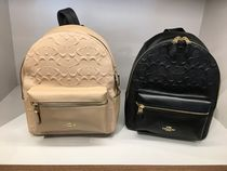 【COACH】新作☆SIG DEBOSSED MD CHARLIE BACKPACK F32083☆